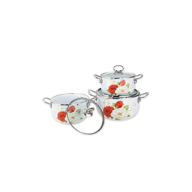 фото Набор посуды Delta Белая роза