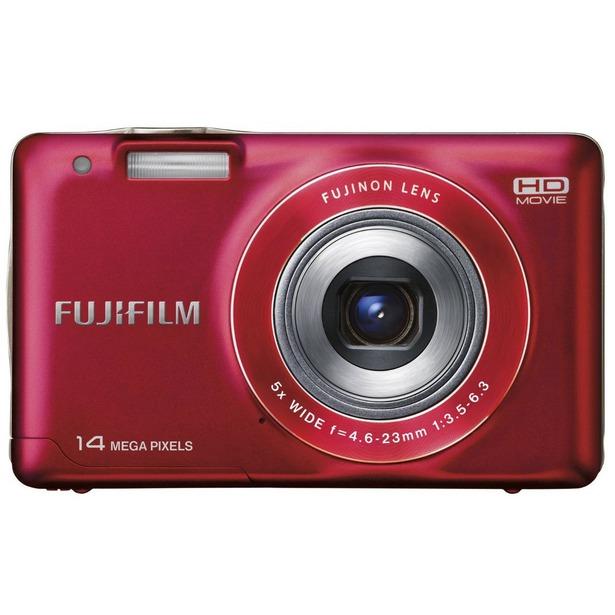 фото Фотокамера цифровая Fujifilm FinePix JX500. Цвет: красный