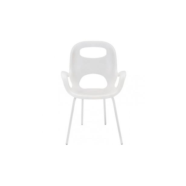 фото Стул дизайнерский Umbra Oh Chair. Цвет: белый