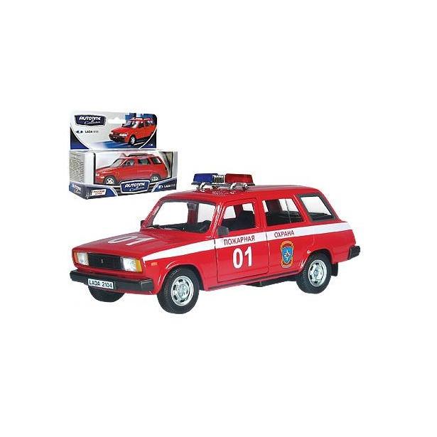 фото Модель автомобиля AUTOTIME LADA 2104. Пожарная охрана
