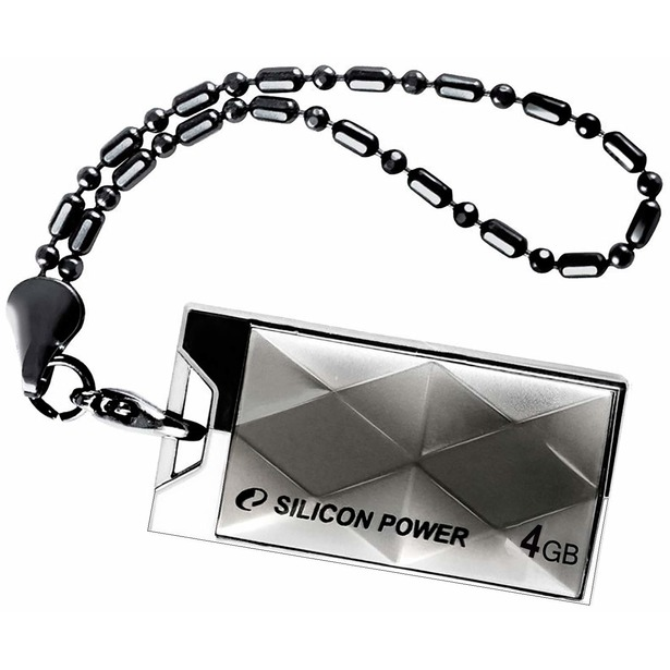 фото Флешка Silicon Power Touch 850 4Gb. Цвет: титановый