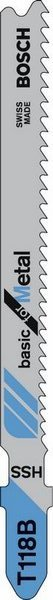 фото Набор пилок для лобзика Bosch T 118 В HSS. Количество предметов: 100