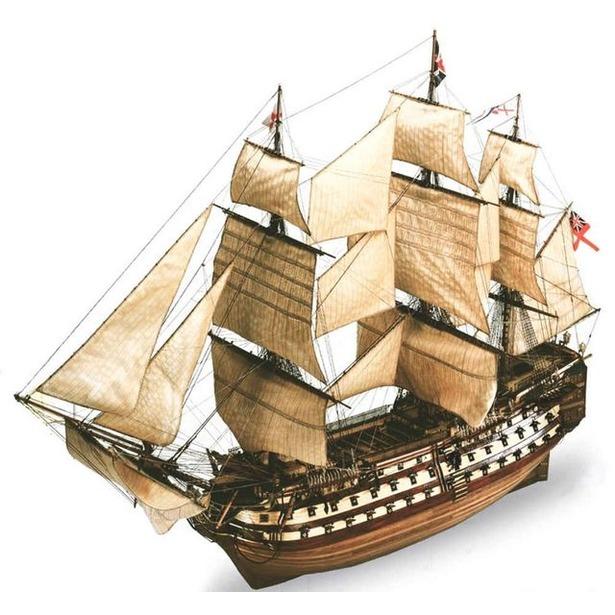 фото Сборная модель парусника Revell H.M.S. Victory