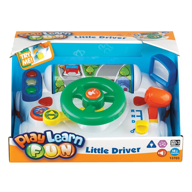 фото Музыкальная игрушка Keenway «За рулем»
