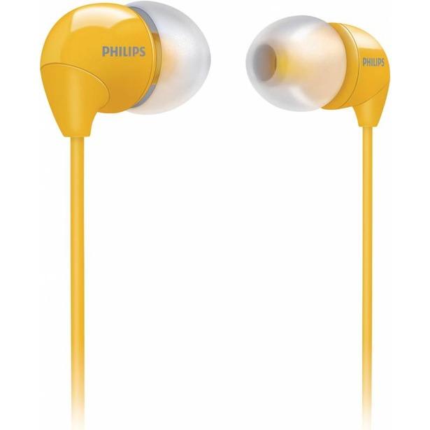 фото Наушники вставные Philips SHE3590. Цвет: желтый