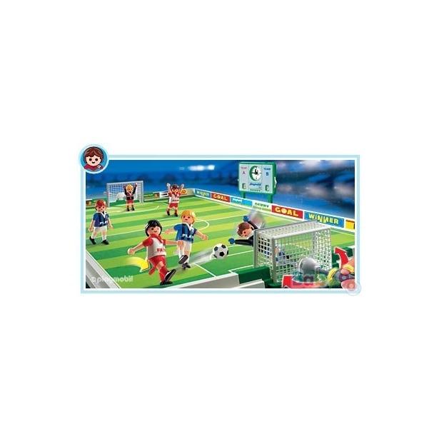 фото Футбол:Спортивные врачи,носилки с игроком и футбольное поле Playmobil 4725pm_1