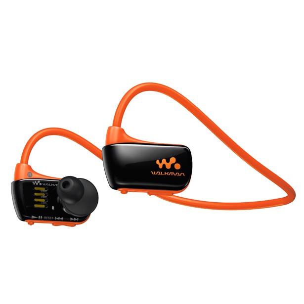 фото MP3-плеер SONY NWZ-W274S. Цвет: оранжевый
