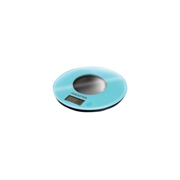 фото Весы кухонные Maxima MS-067. Цвет: голубой