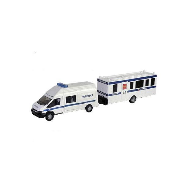 фото Модель автомобиля AUTOTIME Rescue Van. Полиция, с прицепом