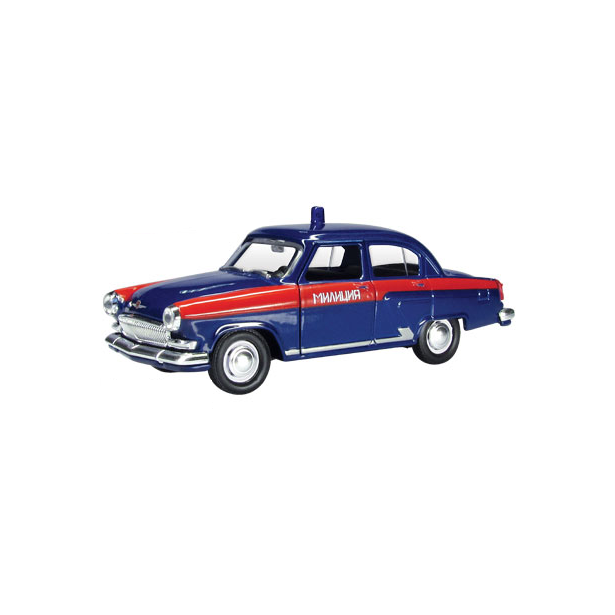 фото Модель автомобиля AUTOTIME ГАЗ-21 Волга «Советская милиция»