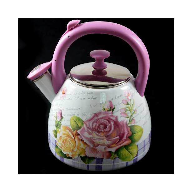 фото Чайник со свистком ALPARAISA Розы