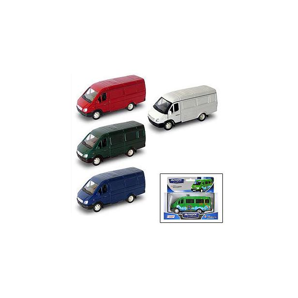 фото Модель автомобиля AUTOTIME ГАЗель «Фургон». В ассортименте