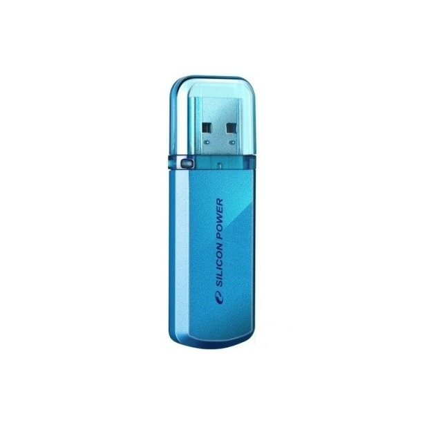 фото Флешка Silicon Power Helios 101 32Gb. Цвет: голубой