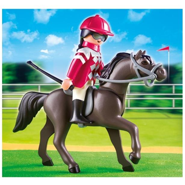 фото Арабская лошадь со стойлом Playmobil 5112pm