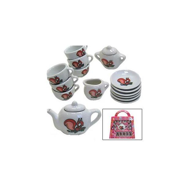 фото Набор посуды для детей МАРУСЯ Рыжий пушистик