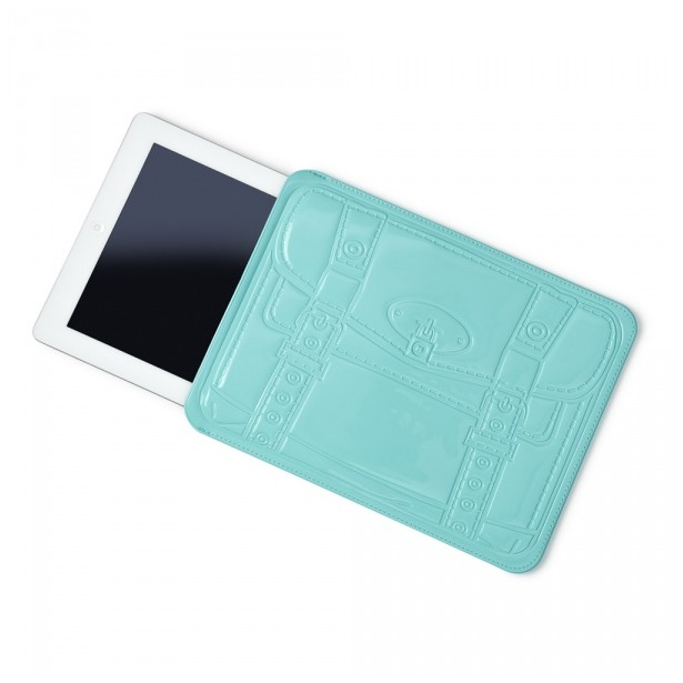 фото Чехол для iPad Mustard Shopperholic. Цвет: голубой