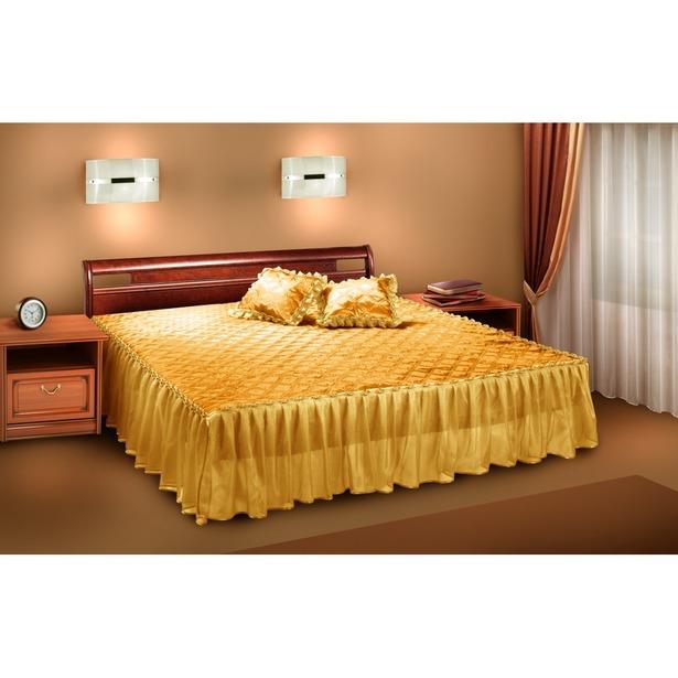фото Комплект в спальню Zlata Korunka П001-1. Цвет: золотистый