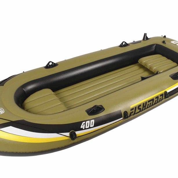 фото Лодка надувная Jilong Fishman 400 Boat Set