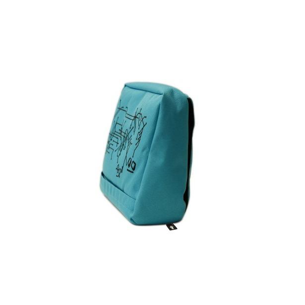 фото Подушка-подставка с карманом для планшета Bosign Hitech. Цвет: черный, голубой