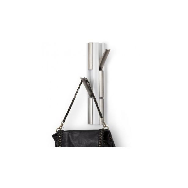 фото Вешалка настенная вертикальная c 6-ю крючками Umbra Flip Nickel