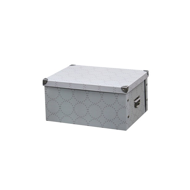 фото Коробка для хранения Hausmann HM-9742. Цвет: клетка
