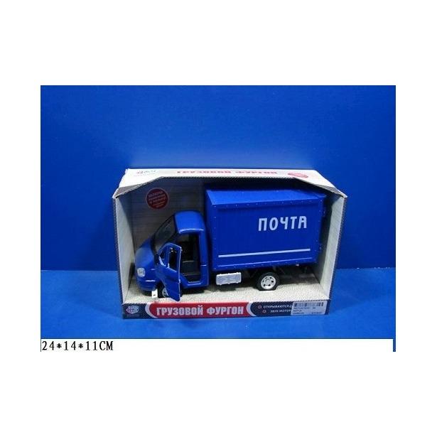 фото Машина инерционная Joy Toy «Газель фургон Почта» Р40517