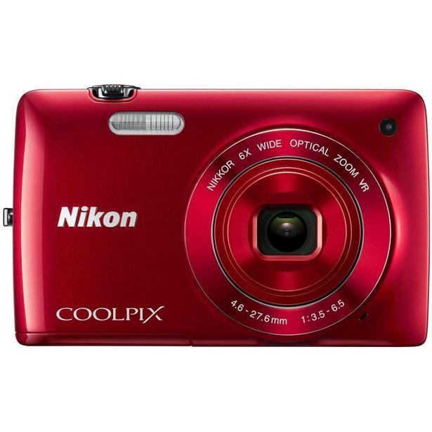 фото Фотокамера цифровая Nikon CoolPix S4300. Цвет: красный