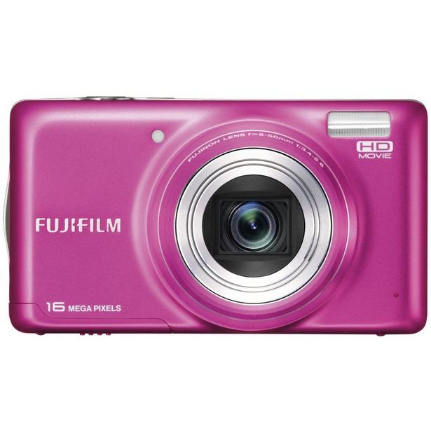фото Фотокамера цифровая Fujifilm FinePix T400. Цвет: розовый