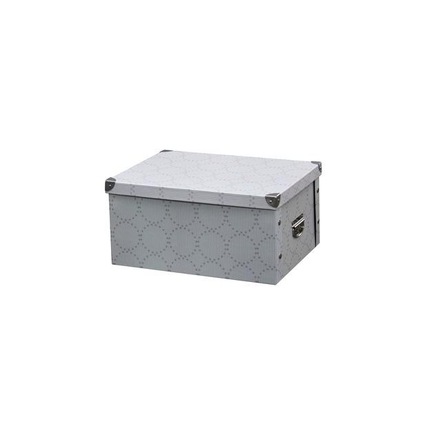 фото Коробка для хранения Hausmann HM-9741. Цвет: клетка