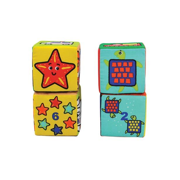 фото Кубики мягкие K'S Kids «Кубики-пазлы»