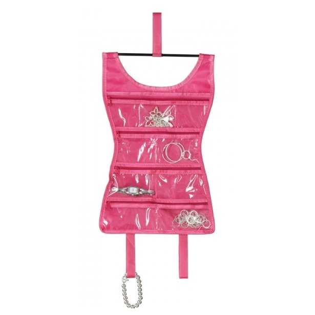 фото Органайзер для украшений Umbra Little Dress Mini. Цвет: розовый