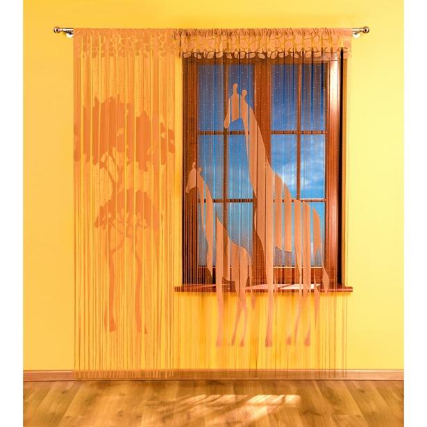 фото Гардина-лапша Wisan «Жираф». Цвет: коричневый