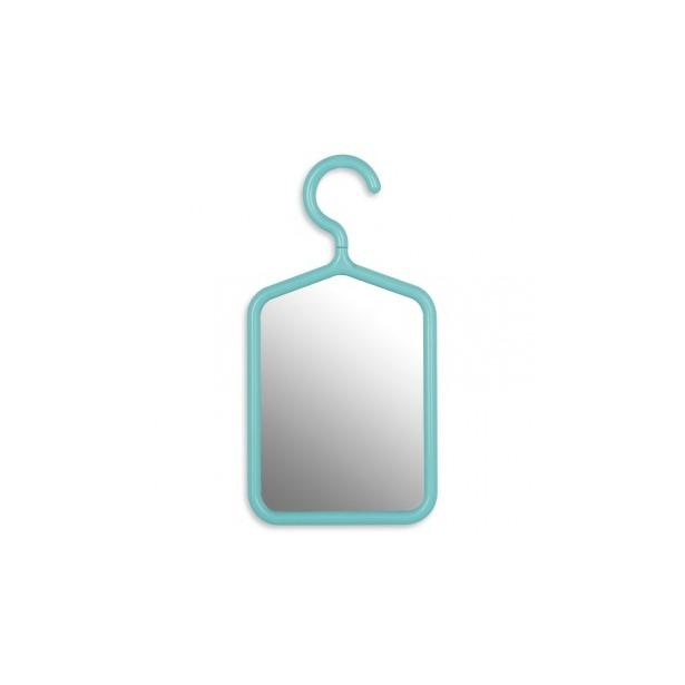 фото Зеркало с вешалкой Umbra Hanger Mirror. Цвет: голубой