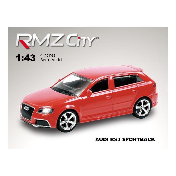 фото Модель автомобиля RMZ City Audi RS3 Sportback. В ассортименте