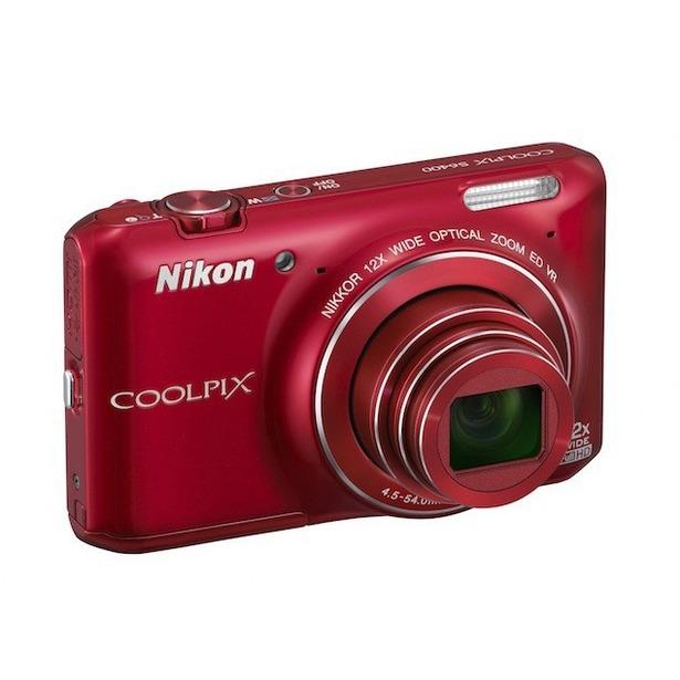 фото Фотокамера цифровая Nikon CoolPix S6400. Цвет: красный