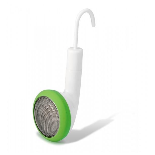 фото Емкость для заваривания чая PO: Selected Earphone. Цвет: белый, зеленый