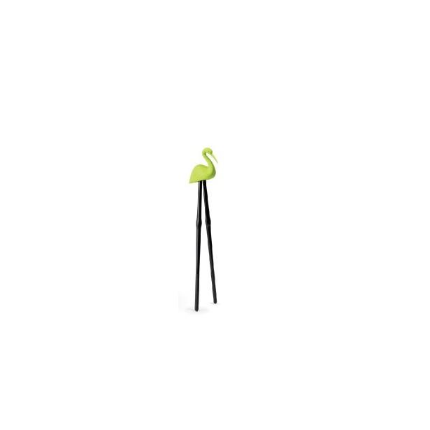 фото Палочки для суши Qualy Master Crane. Цвет: зеленый
