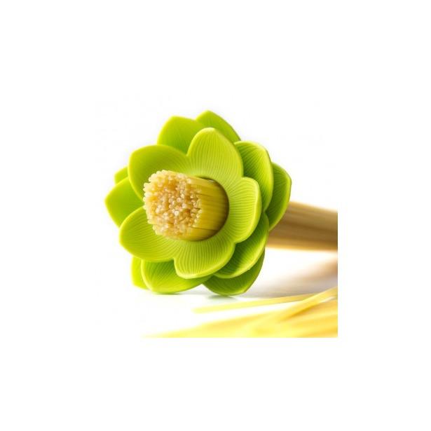 фото Мера для спагетти Qualy Lotus. Цвет: зеленый
