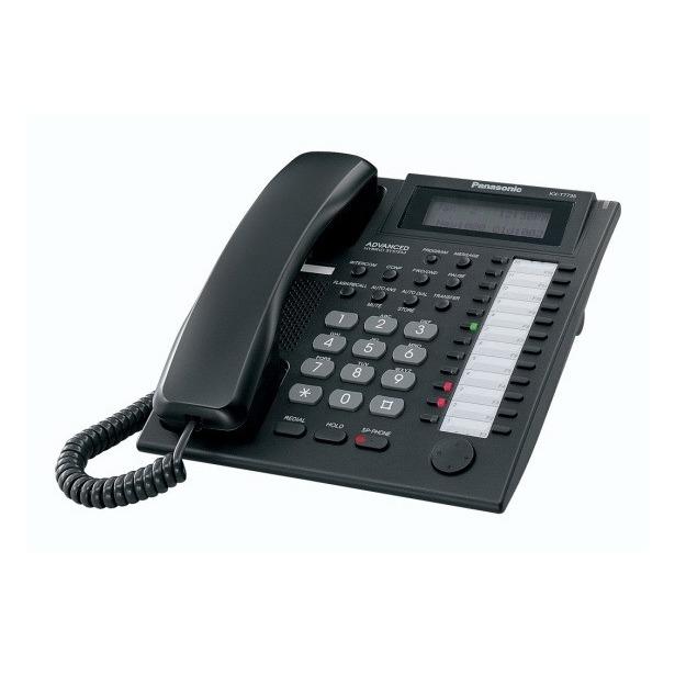 фото Системный телефон Panasonic KX-T7735RU-B