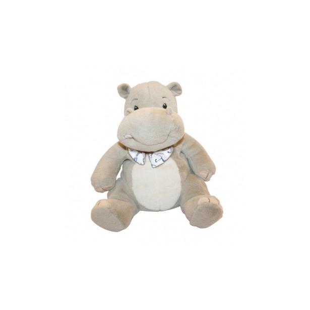 фото Мягкая игрушка Button Blue Бегемотик с бантиком