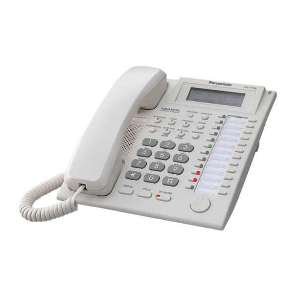 фото Системный телефон Panasonic KX-T7735RU