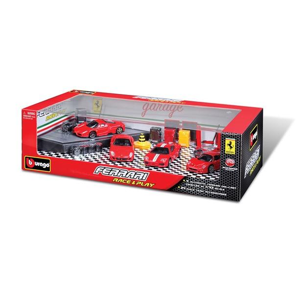 фото Подарочный игровой набор Bburago Ferrari