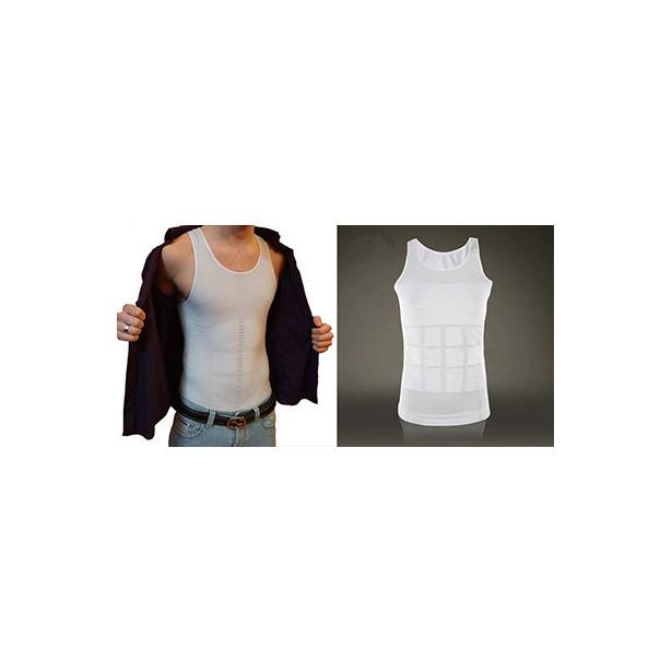 фото Майка утягивающая мужская Bradex «Аполлон». Размер одежды: XL