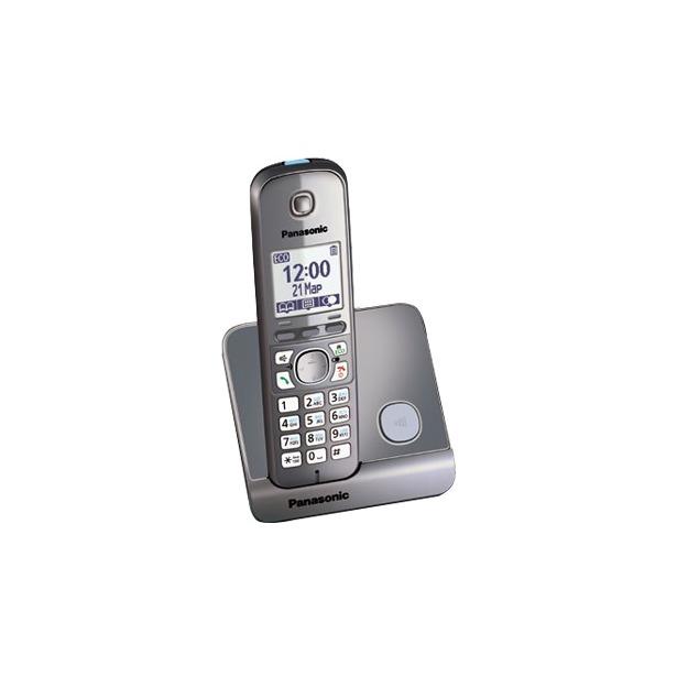 фото Радиотелефон Panasonic KX-TG6711. Цвет: серый