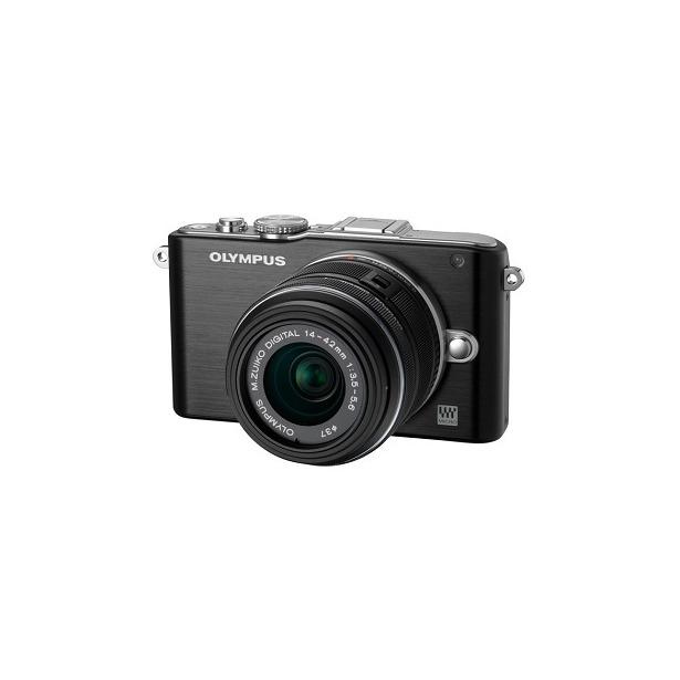 фото Фотокамера цифровая Olympus Pen E-PL3 Kit EZ-M 14-42II. Цвет: черный