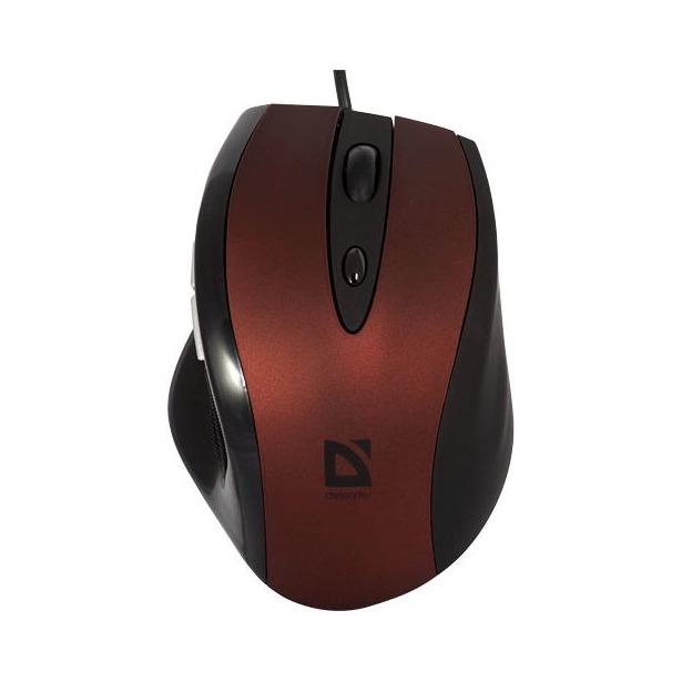 фото Мышь DEFENDER Opera MB-880 Red USB