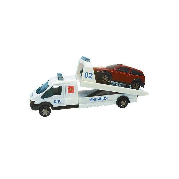 фото Модель автомобиля AUTOTIME Recovery Truck. Эвакуатор, полиция