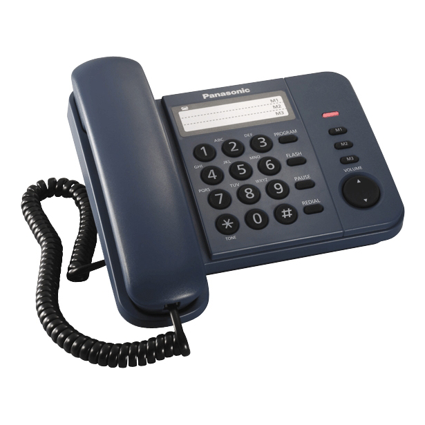 фото Телефон Panasonic KX-TS2352. Цвет: синий