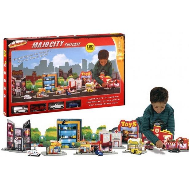 фото Набор игровой Majorette «Город в чемоданчике»