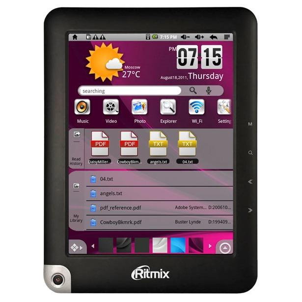 3bf47eef50ed Электронная книга Ritmix RBK-490 купить по низкой цене в Москве и ...
